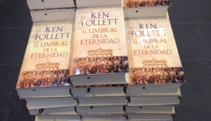 Estellaprint produce El Umbral de la Eternidad lo último de Ken Follett